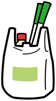 Plastic shopping bag [4242749] Plastic