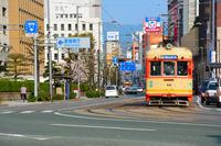 Streetcar Matsuyama Stock photo [4245125] Tram