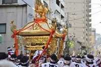 Tenjin land shrines Stock photo [4248157] Mikoshi