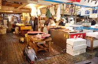 Tsukiji Market (Fisheries intermediate wholesalers department) Stock photo [4297648] Tsukiji
