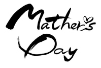 筆文字 Mother's Day Mother's