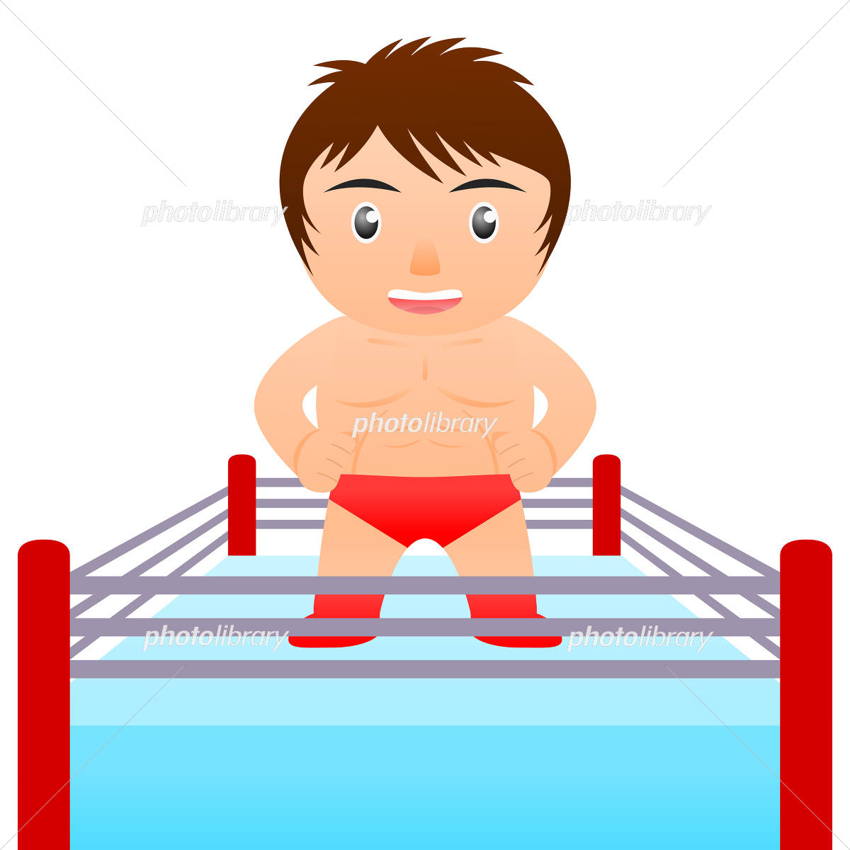 プロレスラー 格闘家 イラスト素材 4385963 フォトライブラリー