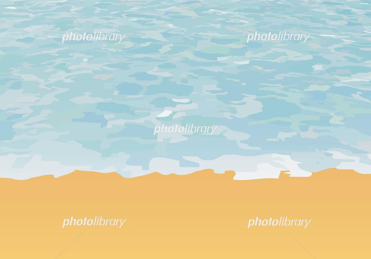 波打ち際 イラスト素材 4392260 フォトライブラリー Photolibrary