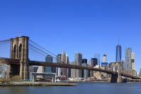 Brooklyn Bridge and Manhattan Stock photo [4383901] Brooklyn