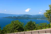 Sunny of Lake Towada Stock photo [4385394] Akita
