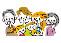 Family three generations [4387207] family
