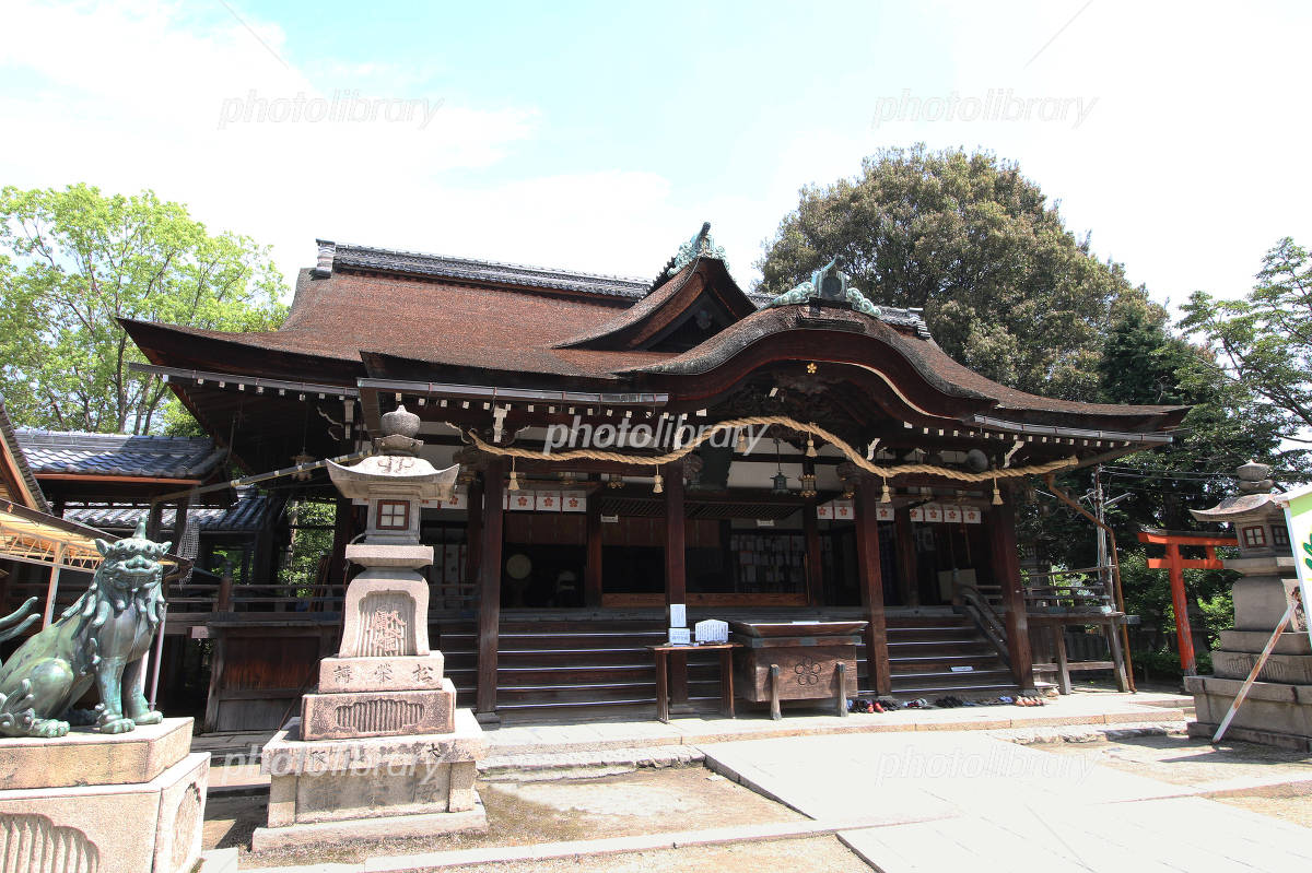 Domyoji Shrine hall of worship Photo
