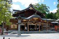 Takekoma shrine hall of worship Stock photo [4458353] Takekoma