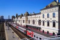 Vladivostok Station and the Trans-Siberian Railway Stock photo [4462432] Vladivostok