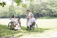 Senior and helper Stock photo [4464054] Nursing