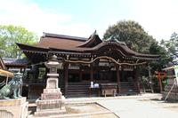 Domyoji Shrine hall of worship Stock photo [4465099] Osaka