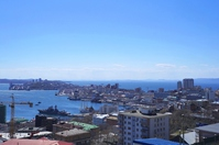 Vladivostok of the town as seen from the Takanosu observatory Stock photo [4466440] Vladivostok
