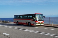 海岸と北鉄バス