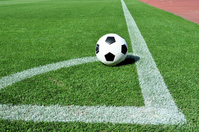 Soccer corner kick Stock photo [4467704] Football