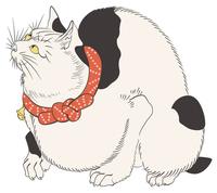 Kuniyoshi Utagawa rat repellent cat image illustrations of [4468317] An