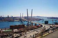 Vladivostok, Golden Bridge and the Golden Horn Stock photo [4472519] Vladivostok