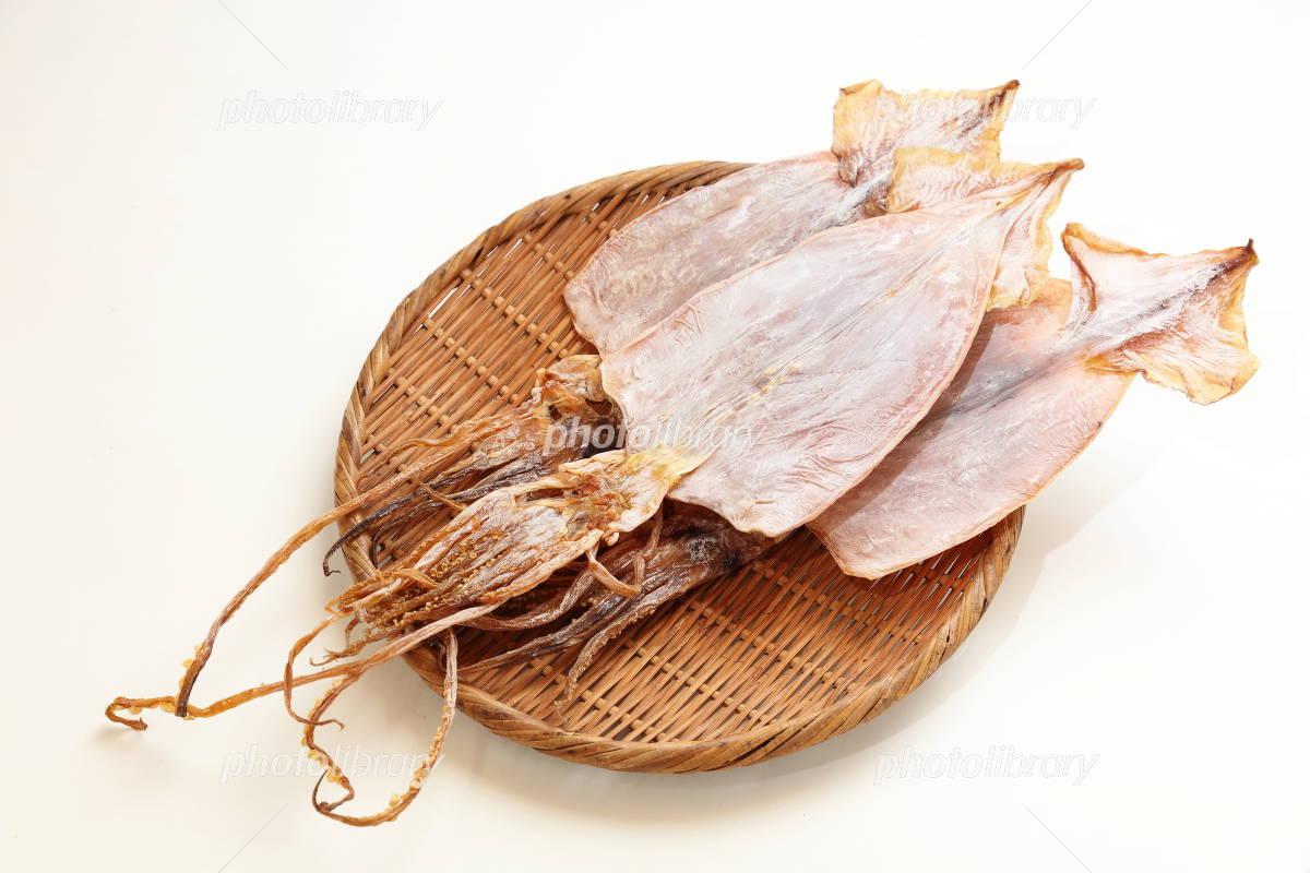 Dried squid Photo