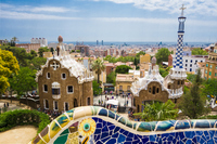 Guell Park Stock photo [4550277] Spain