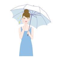 Umbrella and women smile [4552190] umbrella