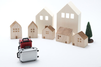 House and suitcase Stock photo [4553863] Homestay