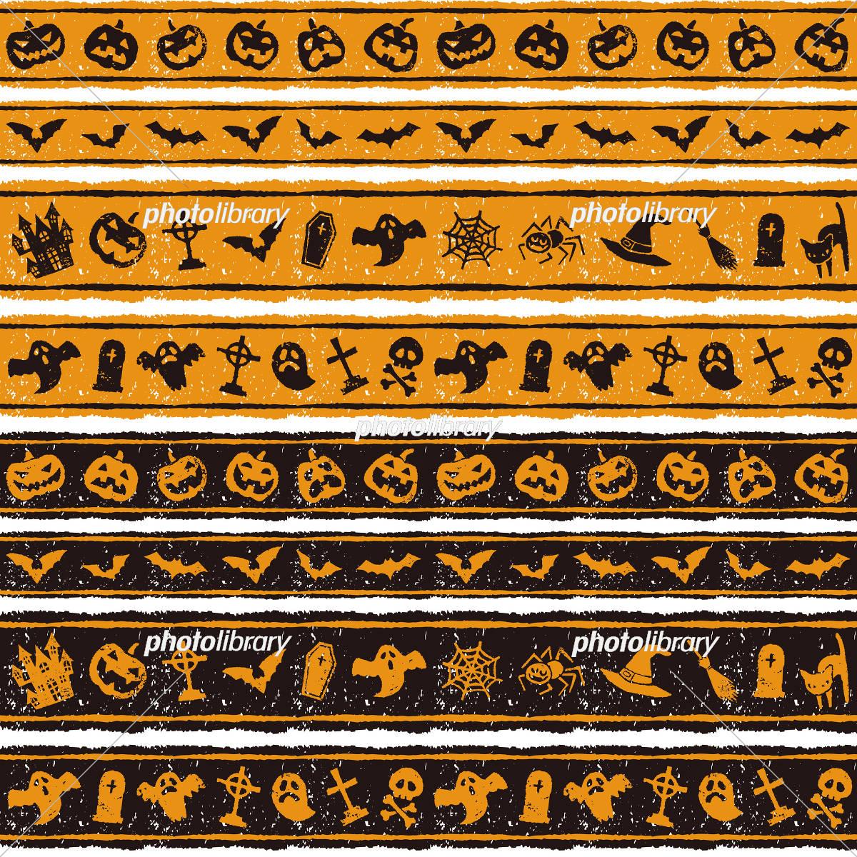 Halloween border illustrations Photo