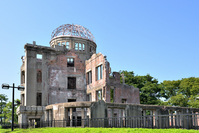 World Heritage Site A-Bomb Dome Stock photo [4617679] Atomic