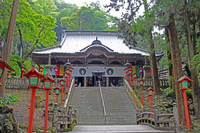 Bando thirty-three Kannon Izuru Mountain Manganji main hall Stock photo [4622368] Bando