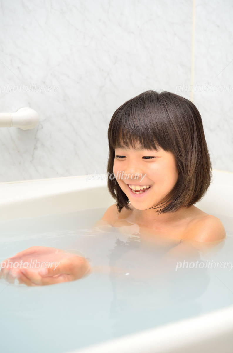 女児 風呂