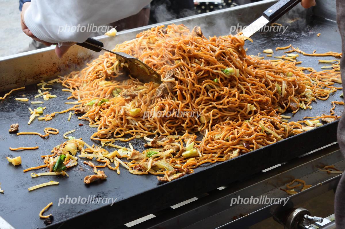 Yatai of chow mein Photo