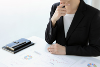 Businesswoman thinking Stock photo [4679214] A