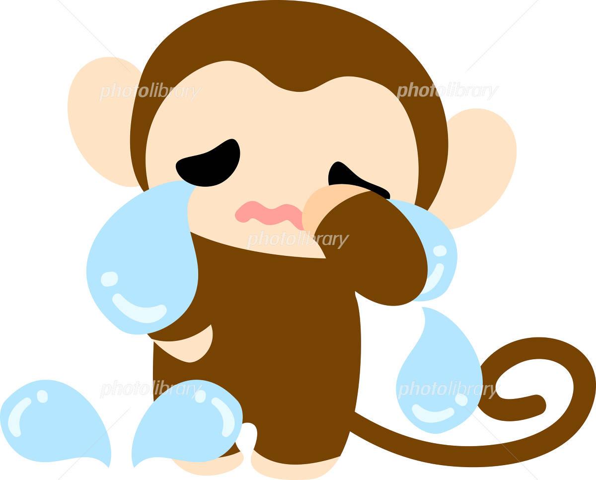 可愛いお猿さんのイラスト イラスト素材 4742569 フォトライブ