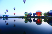 Saga International Balloon Fiesta Stock photo [4745188] Saga