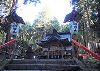 From under oiwa shrine main shrine Hitachi City Stock photo [4748979] oiwa