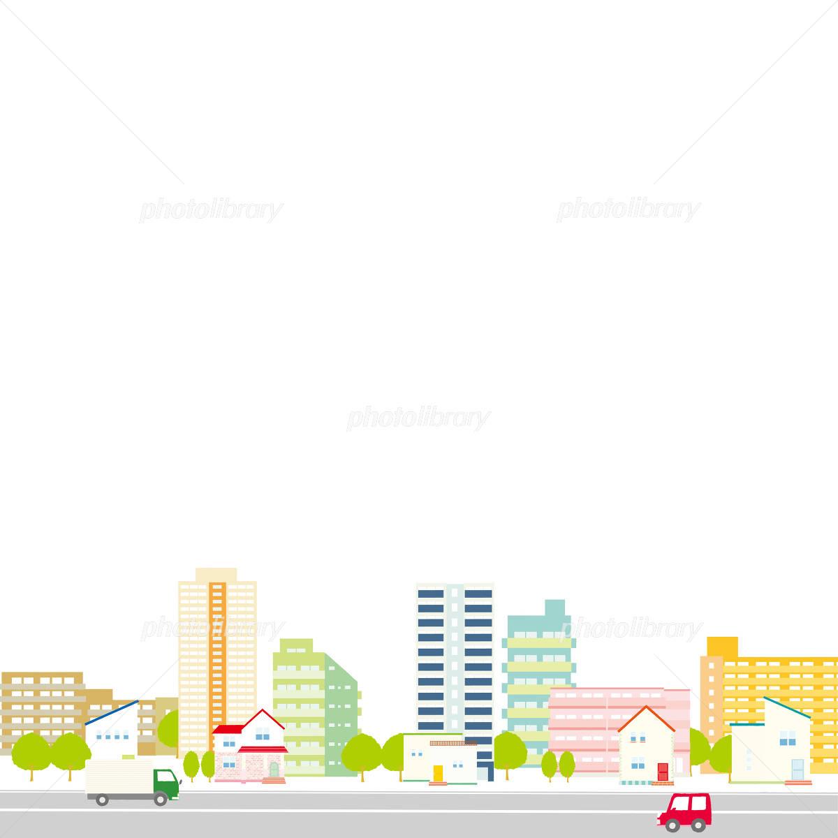 町並み イラスト イラスト素材 4831476 フォトライブラリー