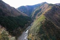 Tokushima Prefecture Iya Valley Hino-shaped valley Stock photo [4828146] Hino-shaped