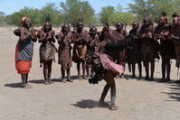 Himba dance Stock photo [4829188] Himba