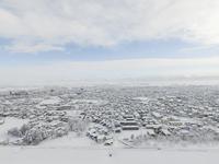 Akita Prefecture Daisen Omagari city Aerial Stock photo [4829454] Helicopter