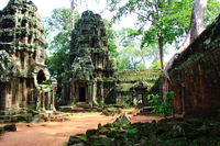 Ta Prohm ruins Stock photo [4836080] Ta