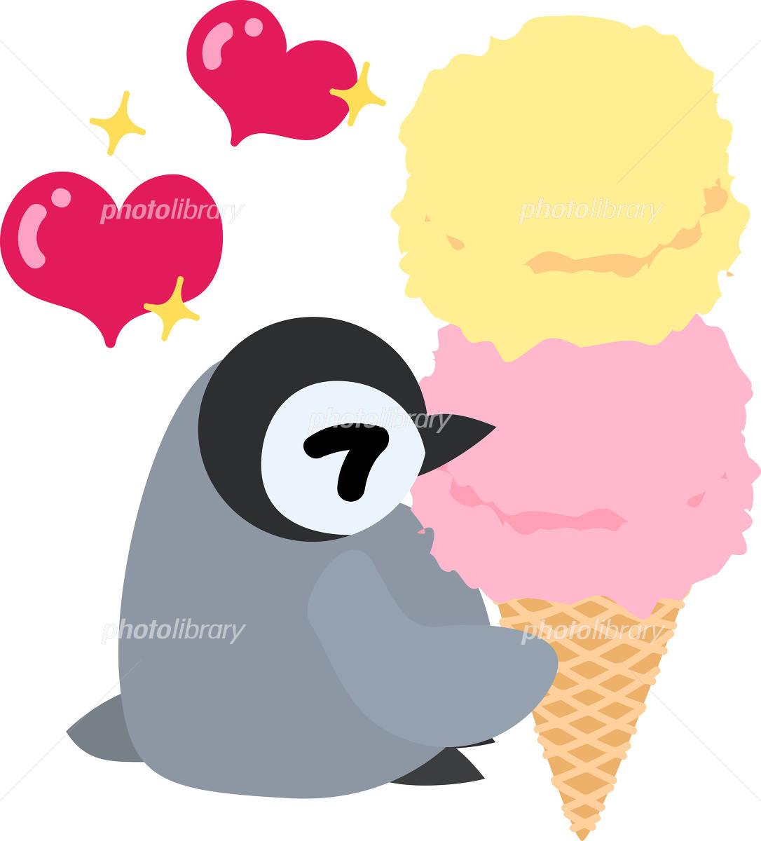 可愛い赤ちゃんペンギンのイラスト イラスト素材 4940377 フォト
