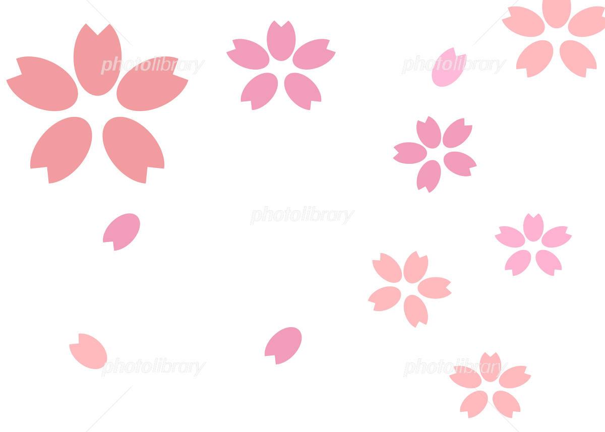 桜の壁紙 イラスト素材 フォトライブラリー Photolibrary