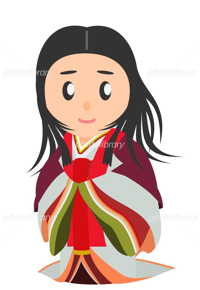 平安時代 女性貴族 日本史 イラスト素材 4946404 フォトライブ