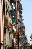 ミャンマーのヤンゴンのマンション