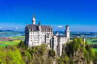 Germany Neuschwanstein Castle Stock photo [4938905] Neuschwanstein