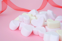 Heart of marshmallow Stock photo [4940967] White