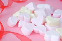 Heart of marshmallow Stock photo [4940969] White