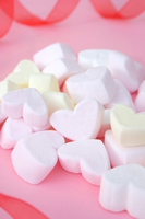 Heart of marshmallow Stock photo [4943127] White
