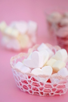 Heart of marshmallow Stock photo [4943135] White