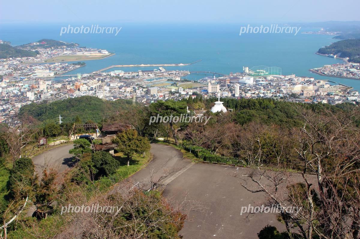 十万山公園と天草市の風景 写真素材 [ 5032248 ] - フォトライブラリー ...