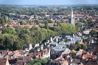 From the Belfry Historical Center in Bruges Stock photo [5033419] Belgium