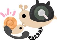 Cute snail illustration [5033917] An